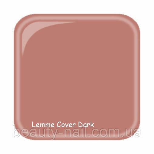Гель для наращивания ногтей Lemme Cover Dark, 15 мл