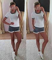 Костюм майка футболка + шорты шорти