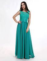 Платье Авелин  зелёное  Enigma