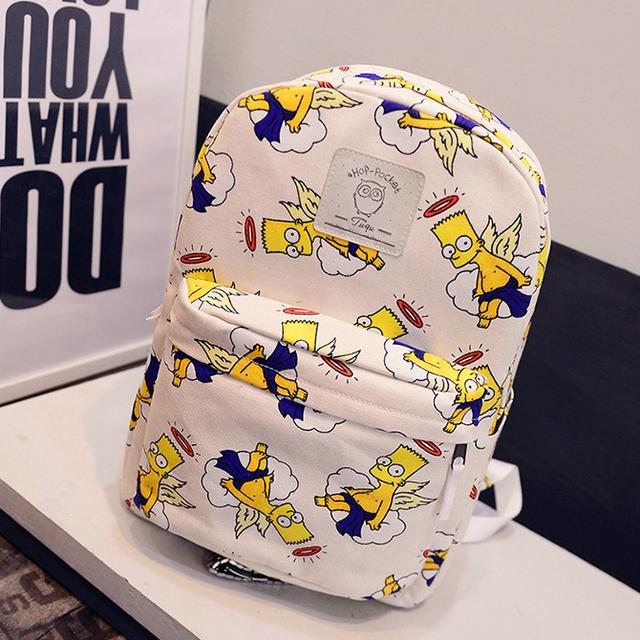 Крутой школьный рюкзак с Бартом
