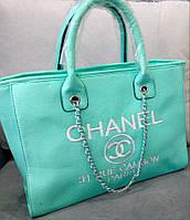 Сумка Chanel мята в наличии. суперцена