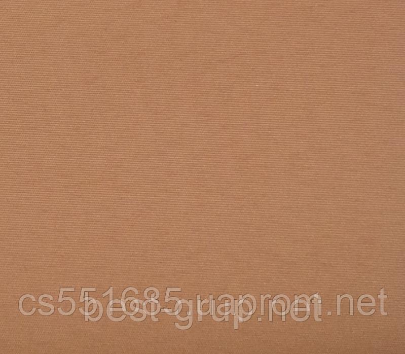 MSS-122 Коричневая (0,675 х 1,70 м) Satin (Сатин)  - Тканевые ролеты Oasis Оазис