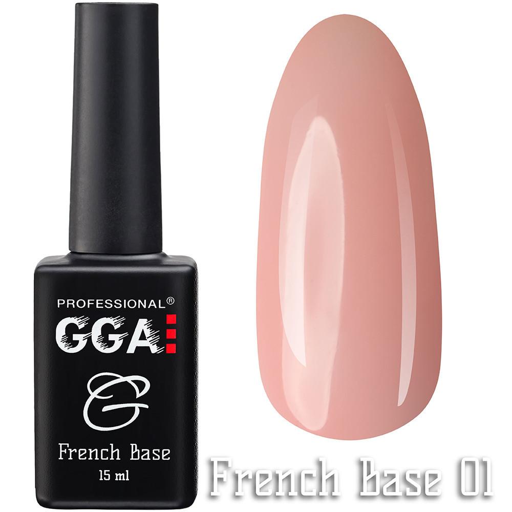 French Base GGA Professional № 1, 15мл