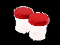 Контейнер для биологического материала СПЕЦТЕХОСНАСТКА лабор. пластиковий  100мл (шт)