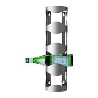 ВУРМ Подставка для 4 бутылок, нержавеющая сталь, 30055760, ИКЕА, IKEA, VURM