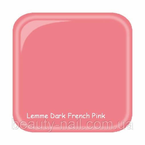 Гель для нарощування нігтів Lemme Dark French Pink, 15 мл