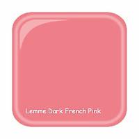 Гель для наращивания ногтей Lemme Dark French Pink, 15 мл