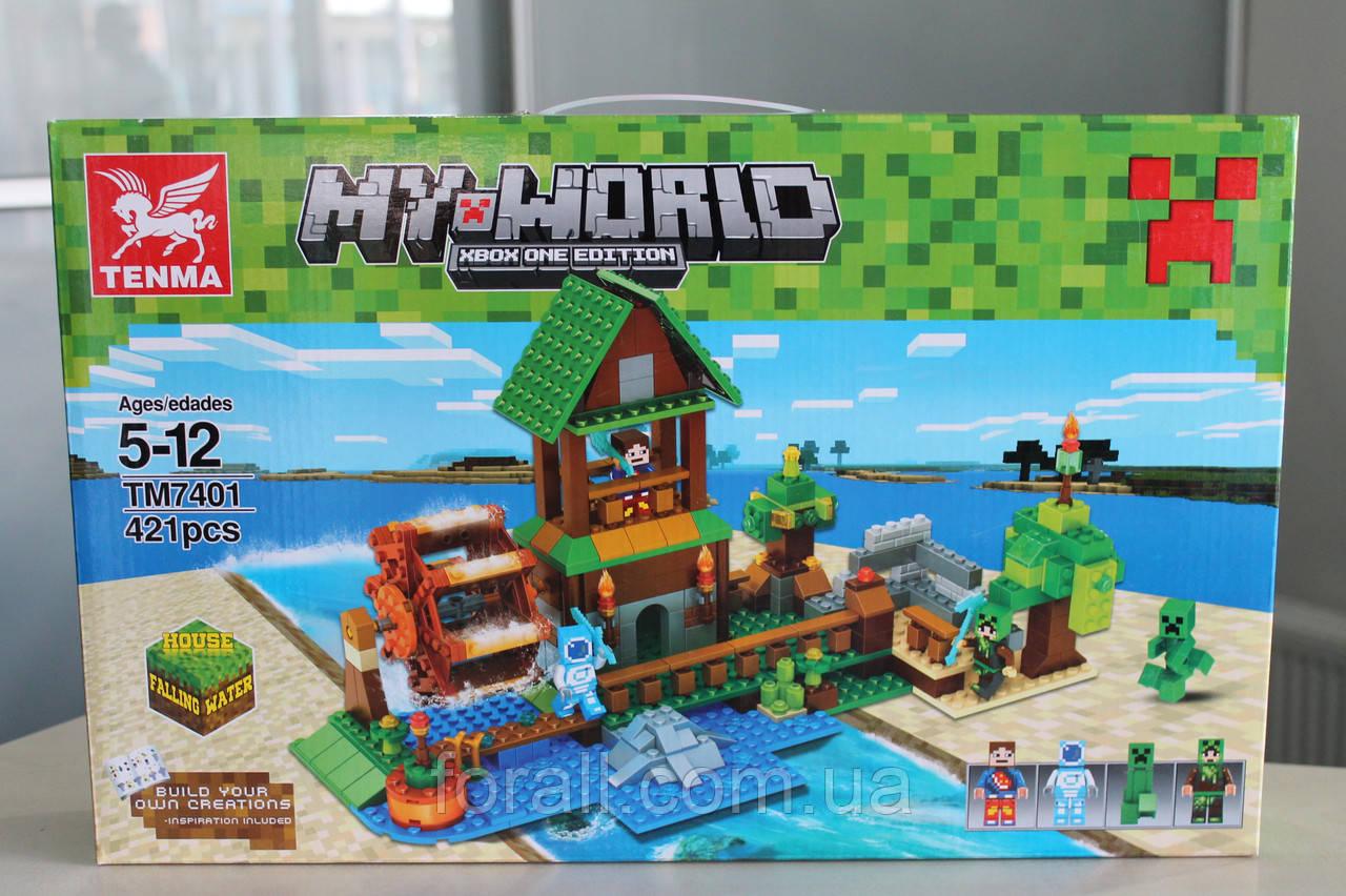 Конструктор Minecraft №7401 Водяная мельница