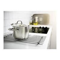 ЛЭМПЛИГ Подставка под горячее, нержавеющая сталь, 30111087, ИКЕА, IKEA, LAMPLIG