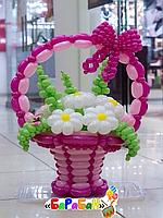 """Букет цветов из шаров """"Дейзи"""""""