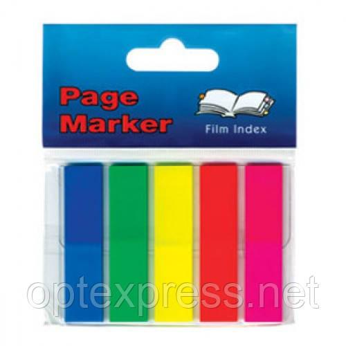 Клейкие флажки-закладки блок 12мм х 50мм  INFO NOTES