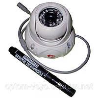 Купольная видеокамера Камера купол 338 CS 1/4 sharp IR color CCD 650tvl