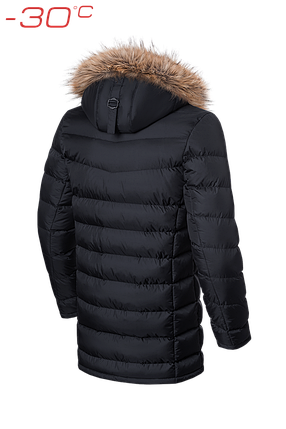 Удлиненная мужская зимняя куртка Braggart Aggressive (р. 46-56) арт. 3155, фото 2