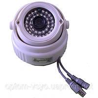 Купольная видеокамера Камера купол 538 CS  1/4 sharp IR color CCD 600tvl