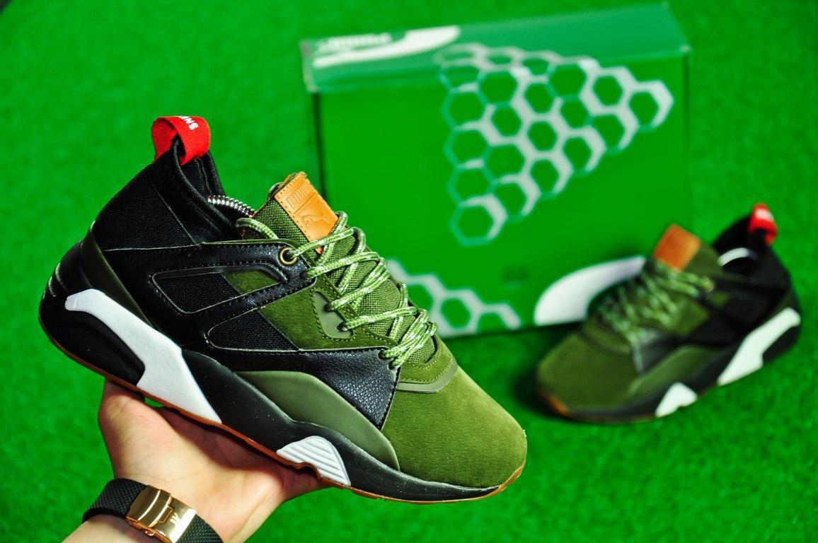 Мужские кроссовки Puma Unisex Army Tropicalia Black Green  продажа ... 35ed7be2665