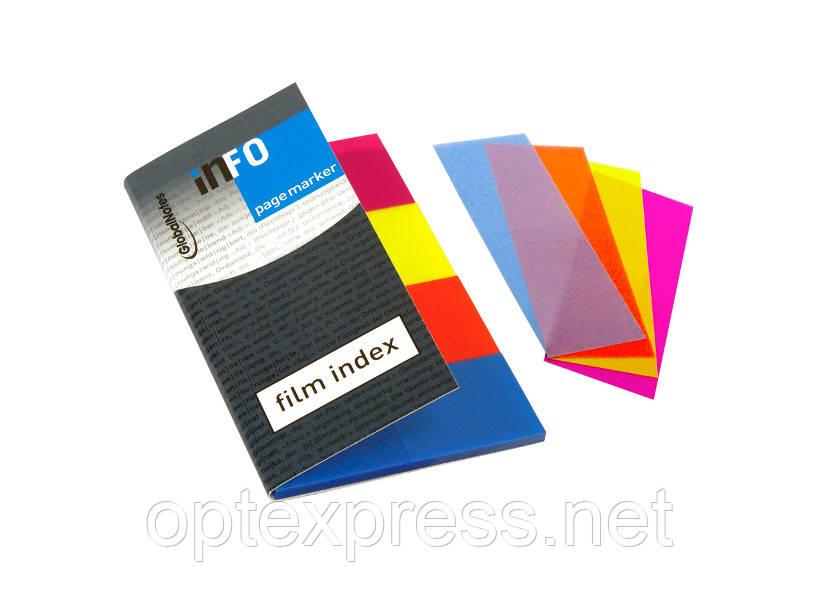 Клейкие флажки-закладки блок 20мм х 50мм  INFO NOTES