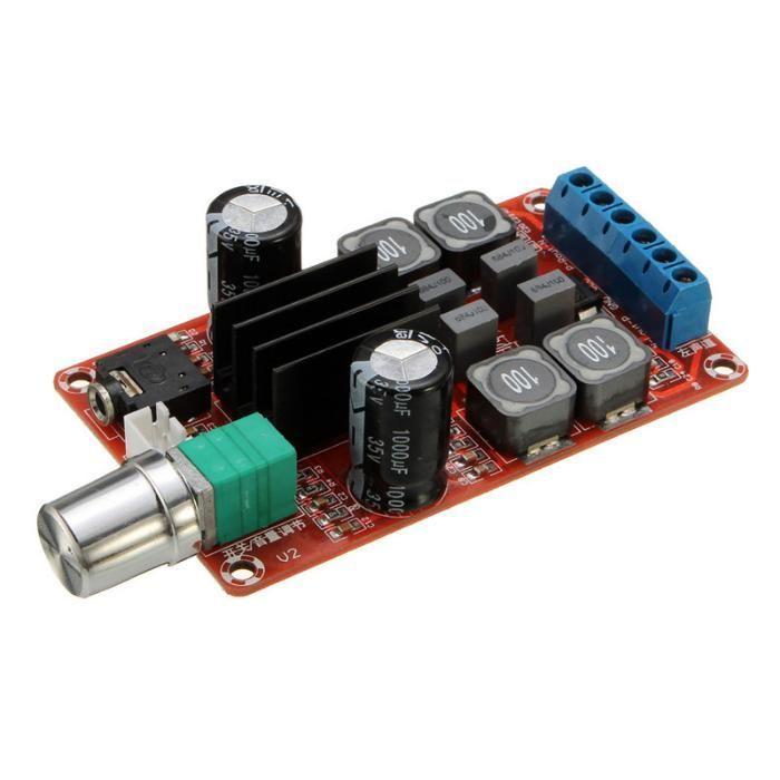 Аудио усилитель D-класса XH-M189, TPA3116D 2, 2 x 50W Стерео мощности
