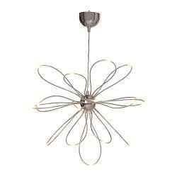 ОНШЭ Люстра светодиодная, хромированная, 90211363, IKEA, ИКЕА, ONSJO