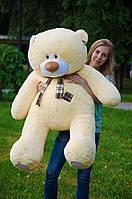 Большой плюшевый мишка Тедди 140 см.мягкая игрушка мишка.мягкие игрушки украина Персиковый