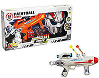 Игровой набор для мальчиков Военный набор  Пейнтбол ( 3316) 2 цвета, автомат, красочн.пули 20шт, парал.пули 6ш