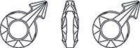 4878.Прозорі Male Symbol