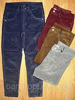 Вельветовые брюки для девочки Glo-story 134-164 см