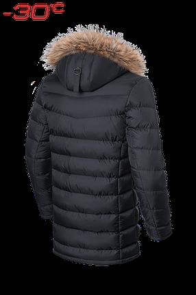 Мужская черная удлиненная зимняя куртка Braggart (р. 46-56) арт. 3155, фото 2
