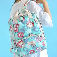 Модная сумка-рюкзак для девушки
