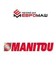 959633 Шкворень верх Маниту Manitou