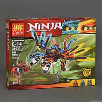 """Конструктор """"NJ"""" 31032 (18) Ninjago """"Огнедышащий дракон"""", 503 деталей, в коробке Длина: 47 см Ширина: 7 см Выс"""