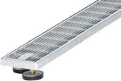 SitaDrain Klassik, 150х1000мм Дренажная решетка полированная нержавеющая сталь