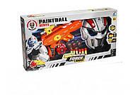 Игровой набор для мальчиков Военный набор  Пейнтбол ( 3315) 2 цвета, автомат, красочн.пули 20шт, парал.пули 6