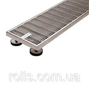 SitaDrain Klassik, 250х1000мм Дренажная решетка полированная нержавеющая сталь