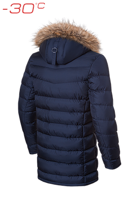 Мужская темно-синяя зимняя куртка Braggart Aggressive (р. 46-56) арт. 3155, фото 2