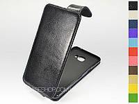 Откидной чехол из натуральной кожи для Samsung C5000 Galaxy C5