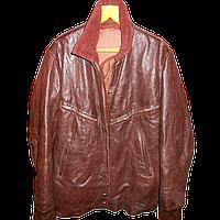 Куртка летная кожаная шевретовая ввс