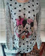 Бренди Женская кофточка Микки маус размер 46-48