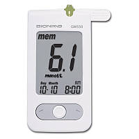 Глюкометр Bionime GM 550 система контроля уровня глюкозы в крови