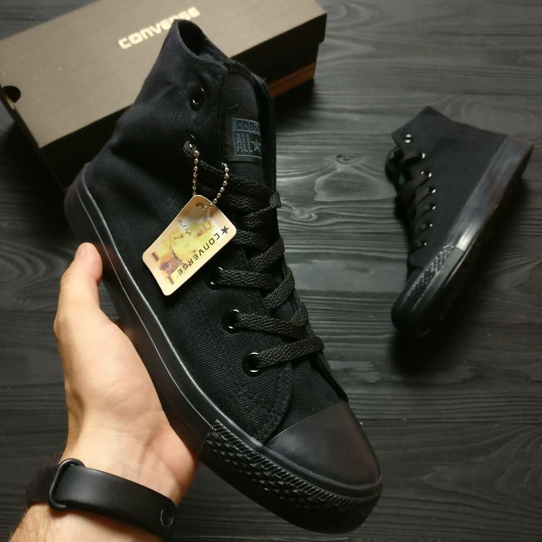 Кеды Converse Chuck Taylor High Full Black