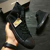Кеды Converse Chuck Taylor High Full Black, фото 1