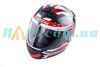 Шлем-интеграл   (mod:FF352) (size:L, черно-красный, ROOKIE GAMMA)   LS-2