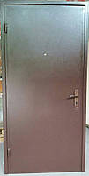 Двери входные металлические DL12  1900x860/960x40 мм