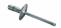 Заклепка отрывная увеличенная головка алюминий/сталь DIN 7337 М4х10-М5х16