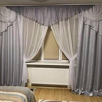 Комплект красивых штор для спальни интернет магазин