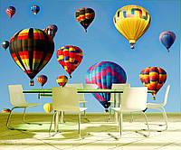 Фотообои интерьерные Воздушные шары в небе