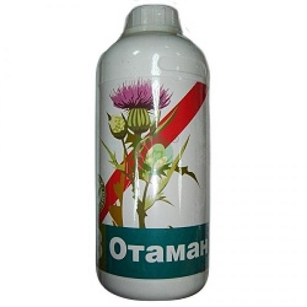 Отаман гербицид, десикант, сплошного действия / гербицид Атаман (1 л) — системный, от множества сорняков