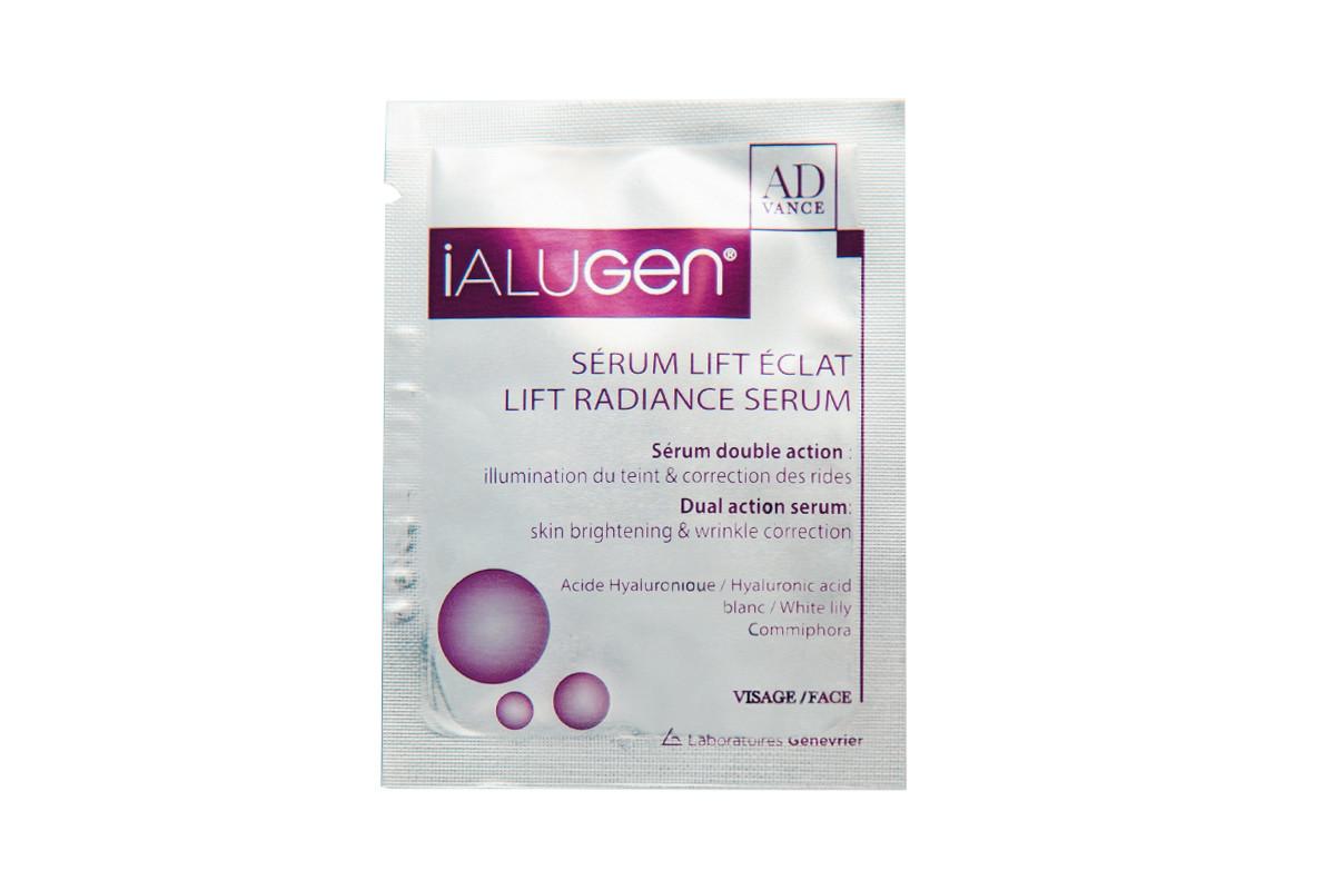 Сыворотка для лифтинга и сияния кожи Ialugen Advance Radiance lift Serum пробник