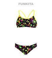 Раздельный купальник для девочек Funkita Splatter Attack FS02, фото 1