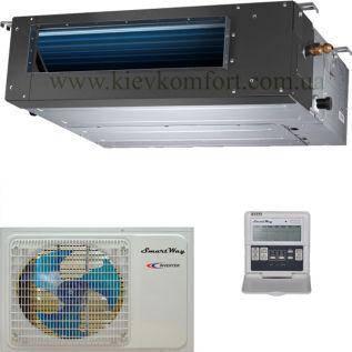 Сплит-система канального типа SmartWay SMDF-36EHR/SMN-36EHRS, фото 2