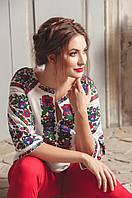 Блуза вишиванка від дизайнера, фото 1